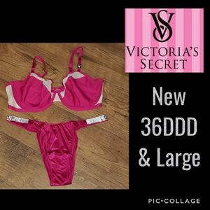 New Victoria's Secret Bra 36DDD & Shine Brazillian
